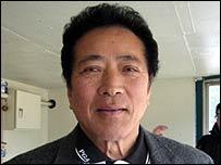 Norihito Sasada, Japanese gun-owners' representative