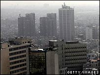 A recent view of Damascus