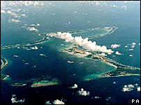 UK dependent territory Diego Garcia 