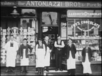 Old photograph of Antonizzi Bros