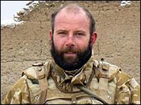 "Corporal Damian ""Dee"" Mulvihill (Pic: MoD)"