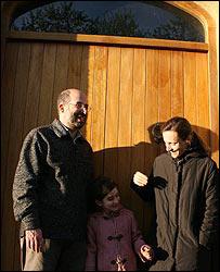 Jordi Rodón y su familia.