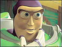 Buzz Lightyear in Toy Story II