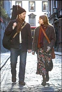 Glen Hansard and Marketa Irglova in a scene from Once