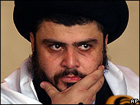 Moqtada Sadr, powerful Iraqi cleric