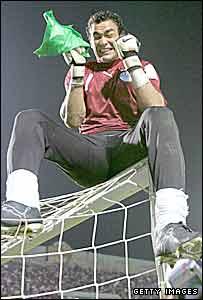 Egypt and Ahly goalkeeper, Essam El-Hadari