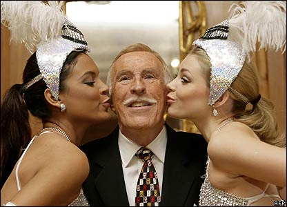 Bruce Forsyth celebrating his 80th birthday
