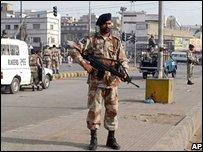 Soldier in Balochistan