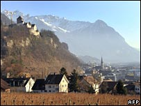 Home of the Princely House of Liechtenstein, The Castle of Vaduz