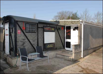 The 23-seat cinema is in a former railway carriage