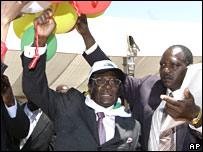 Robert Mugabe at 84th birthday celebration