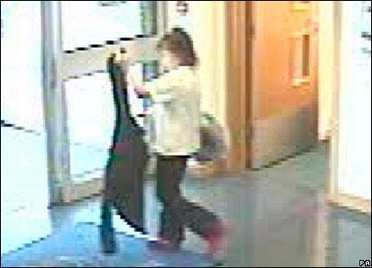 CCTV footage of Shannon Matthews