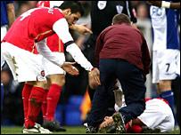 Eduardo receives treatment