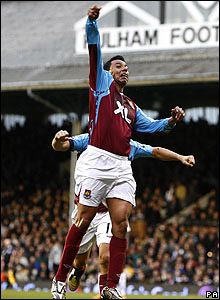 Fulham 0-1 West Ham: Nolberto Solano does his best Superman impression after scoring the winner late on