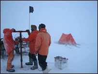 Ice coring (BBC)