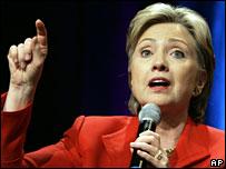 Hillary Clinton, 23 February 2008
