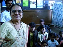 Professor Asha Rane and her street children project 'The Hamara Club'