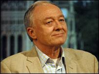 Ken Livingstone ...credit Jeff Overs/BBC
