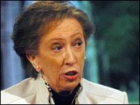 Margaret Beckett MP ...credit Jeff Overs/BBC
