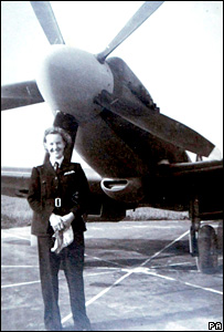 An undated photo of Margaret Frost during her wartime years
