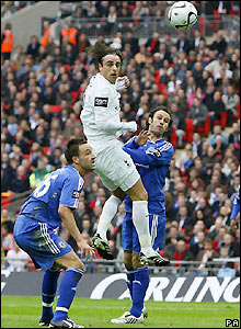 Berbatov heads wide