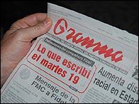 Diario Granma (Foto: Raquel Pérez)