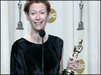 Tilda Swinton and Oscar