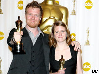 Oscar winners Glen Hansard and Marketa Irglova