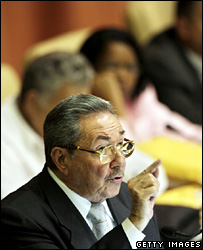 Raul Castro addresses the National Assembly (24 February 2008)