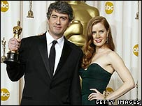 Dario Marianelli with Amy Adams