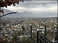 A view of Liechtenstein