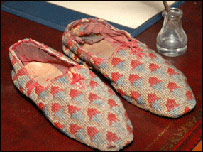 Sir Walter Scott's slippers
