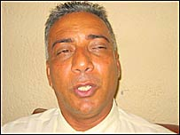 Hanif Adams, a candidate for the Faz Presidency
