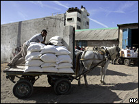 WFP aid arrives in Gaza City (archive)