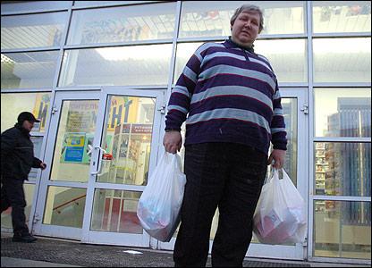 Alexei shopping