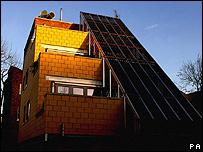 Futuristic eco-home (Image: PA)