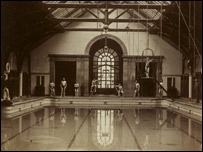 Kirsty Balfour's choice of a photograph of Warrender Park Swimming Baths