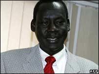 Sudanese Foreign Minister Deng Alor