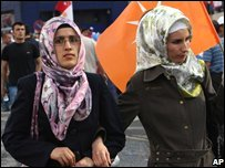 Women who support lifting of ban 14.07.07
