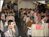 Media on flight