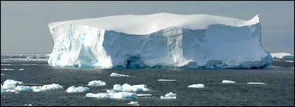 Iceberg. Image: BBC