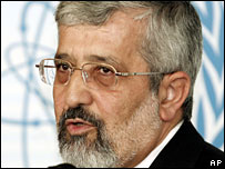 Iran's Ambassador to the IAEA Ali Asghar Soltanieh, 12 September 2007