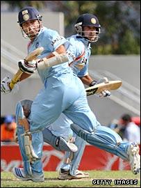 Sachin Tendulkar and Gautam Gambhir.