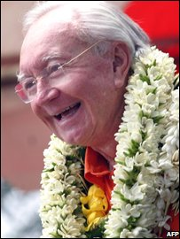 French Polynesian president Gaston Flosse (file photo)