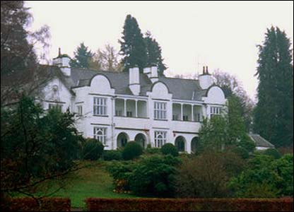 Brockhole on Lake Windermere, built between 1898 and 1900 for wealthy Manchester silk merchant William Gaddum and his wife Edith Potter, cousin of Beatrix Potter