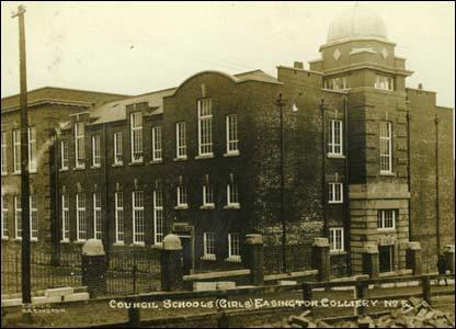 Former Easington Colliery School, built in 1911 by John Morson