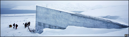 The Svalbard Global Seed Vault (AP)