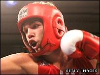 British amateur welterweight Billy Joe Saunders.