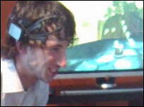 Grimacing to control a brainwave video game