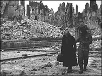 Город Кан в Нормандии